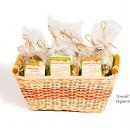 Medové placičky v košíku - produkty fotografie