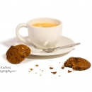 Medové placičky + espresso - produkty fotografie