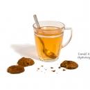 Medové placičky + čaj - produkty fotografie