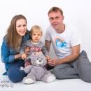 Mareček s tatínkem a maminkou